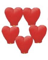 Kalp Şeklinde Dilek Fener..